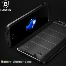 For iPhone 6s 7 8 Plus Portable External Backup Power Bank Battery Charger Case