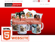 Drop Shipping Personalised Printing Gifts website business -  With Online Design