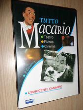 DVD TUTTO MACARIO IL CINEMA L'INNOCENTE CASIMIRO
