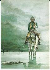 """CPM - Carte Postale HERMANN / GREG 1984 """" COMANCHE N° 43 """" LE CORPS D'ALGERNON"""