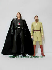 Star Wars 12in Anakin Skywalker as Darth Vader 2012 Obi Wan Kenobi 2013 Hasbro
