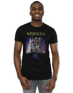 Beetlejuice Men's Distressed Poster T-Shirt