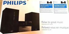 Philips MCM2300 Kompaktanlage (CD, USB, Audio-Eingang) - silber/schwarz***NEU***