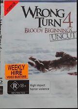 Wrong Turn 4 - Bloody Beginnings (DVD, 2012) Region 4