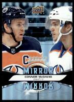 2020-21 UD MVP Mirror Mirror Variation #MM-1 Connor McDavid - Edmonton Oilers