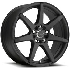 "15"" Inch Raceline 131B Evo 15x7 5x100/5x114.3(5x4.5"") +40mm Black Wheel Rim"