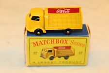 Matchbox A Moko Lesney No 37 Coca Cola Lorry BPW mint in box SUPERB