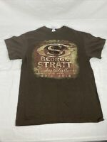 GEORGE STRAIT The Cowboy Rides Away 2013 2014 Concert T SHIRT Size Large