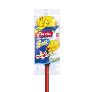 Vileda Mop SuperMocio Soft Set mit Stockstange Putzgeräte Haushal Wohnen
