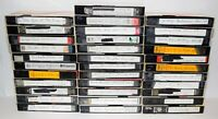 Lot of 34 Various Brands VHS Tapes - Sold As Blank Media - Lot # 20