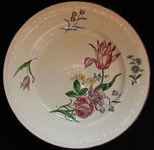 BORDEAUX J. VIEILLARD Compotier /Coupe décor floral Strasbourg 19è (n°3)