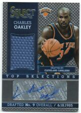 2013-14 Select Top Selections Jersey Autographs GU Auto Pick Any