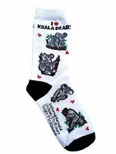 I Love Koala Bear (41305) Women Socks Cotton New Gift Fun Unique Fashion