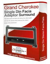 Jeep Grand Cherokee stereo radio Facia Fascia adapter panel plate trim CD