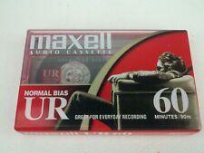 Maxell Audio Cassette 60 minutes Normal Bias UR