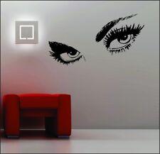 Sexy Eyes arte de Pared Calcomanía Decoración para el Hogar Salón EXTRAÍBLE PEGATINAS Vinilos mujeres su