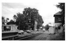 Hackensack New Jersey view of old train station real photo pc Y12305
