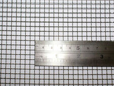 Woven Wire 5 Mesh - 60X60cm Size - 4.5mm Hole - 0.7mm Wire- Stainless Steel 304L