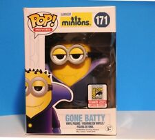 FUNKO POP MOVIES MINIONS #171 GONE BATTY SDCC 2015 VAULTED +P/Prot