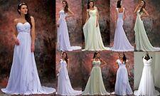 Brautkleider aus Chiffon mit A-Linie