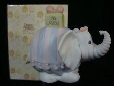 New ListingPrecious Moments-Elephant/Gift-Min i Nativity Addition-Happy Birthday Jesus-Cute