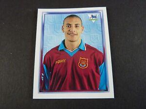 Rio Ferdinand Rookie Sticker - Merlin Premier League 98 - Near Mint - West Ham