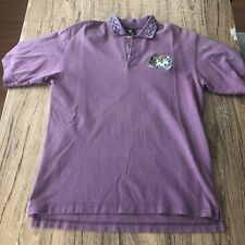 Warner Bros Roadrunner And Coyote Men's Golf Vintage 1997 Polo Size S #12135