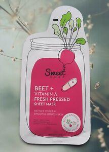 Sweet Chef Beet + Vitamin A Fresh Pressed Sheet Mask, 1 mask, 20 ml