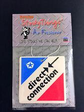 DIRECT CONNECTION MOPAR CAR AIR FRESHENER * BERRY * vintage chrysler dodge decal