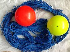 500ft  long-line +2 Drop-line 100ft & 2 Marker Buoy 100 Clip on Hooks Size 5/0