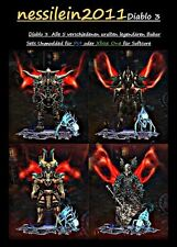 Diablo 3 RoS Ps4/Xbox One - Barbar/Barbarian - Alle 5 uralten Set's -  UNMODDED