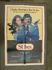 "Charles Bronson St. Ives  Original Movie Poster 41"" x 27"""