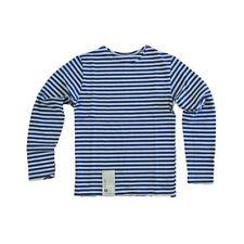 Ropa de niño de 2 a 16 años azul 100% algodón