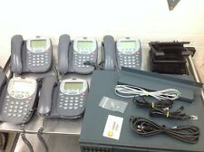 Avaya iP Office 500 IPO500 Phone System with 5 5410 Phones