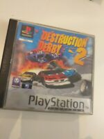 Ps1 DESTRUCTION DERBY 2    pal ESPAÑA( playstation 1) ( completo  )