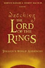 WATCHING THE LORD OF THE RINGS - NEW HARDCOVER BOOK