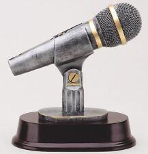 KARAOKE SINGING SPEAKER MICROPHONE MC SCULPTURE AWARD TROPHY M*RF3311SG