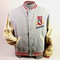 Vintage Chesterfield Cigarette Jacket Promotional Letterman Size 50 Coat