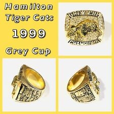 Hamilton Tiger Cats 1999 Grey Cup Championship Ring Size 11