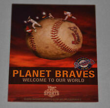 Atlanta Braves 2008 Spring Training Pocket Schedule (Disney's Wide World Sports)