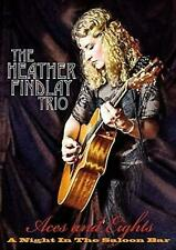 HEATHER FINDLAY  Trio: Aces and Eights - A Night In The Saloon SEALED DVD 2018