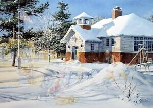 Charles Peterson Fresh Snow Signed and Numbered Print 26 x 19