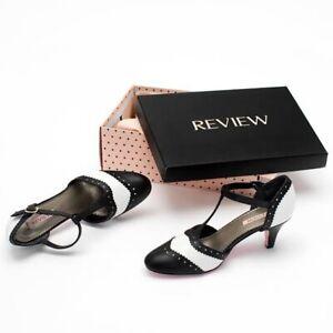 BNIB REVIEW Lindy Hop Shoes Sz10 RRP $200