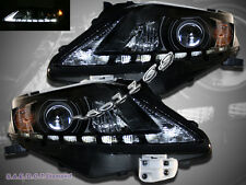 10 11 12 Lexus RX350 Projector Headlights Black Clear Amber Reflector