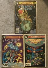 DC Invasion Lot Of 3