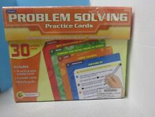 Lakeshore Problem Solving Practice Activity Cards Write & Wipe Ff598