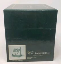 Williamsburg Collectibles Shoemaker'S Shop Original Box 0506001 Colonial Nib