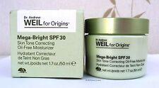 Origins Dr Weil Mega-Bright Skin Tone Correcting Moisturizer Oil Free 50ml- New