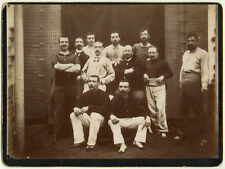 Photo Au Citrate Groupe Hommes Sport ? Vers 1900