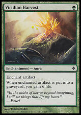 Viridian Harvest X4 EX/NM New Phyrexia MTG Magic Cards Green Common